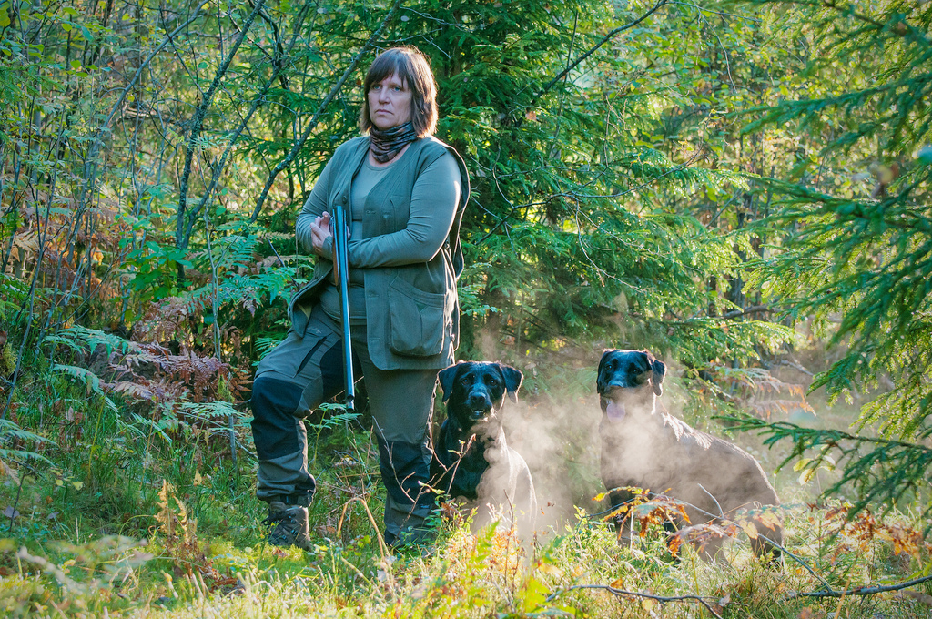 Jakt jägare hund