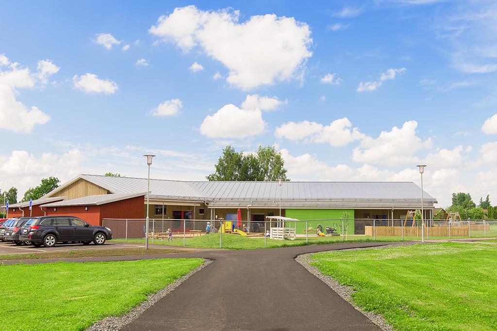 Beställt av Tengbom arkitekter, Hasselbol förskola Sunne